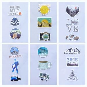 3pcs Outdoor Adventure Stickers